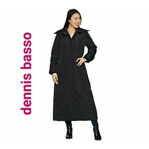 NEW Jacket Dennis basso puffe coat black xxs